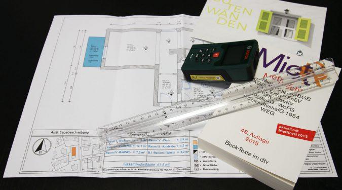 Vermessen - Wohnung - Haus Wohnfläche Martin Bloch Immbilien